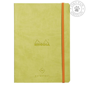 Rhodiarama Perpetual Diary/planner - Anise Paper