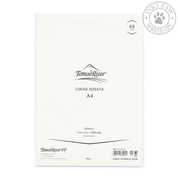 Tomoe River A4 Loose Sheets (68 Gsm) 50 Cream Paper