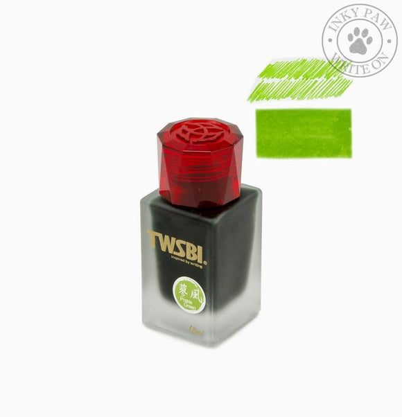 Twsbi 1791 Special Edition Ink Bottle (18 Ml) - Prairie Green Inks