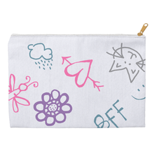 Samantha Knows Everything Doodle Accessory Pouches