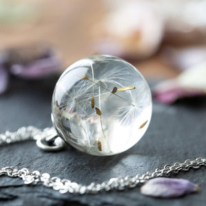Dandelion Wishing Necklace-Iconic Spark