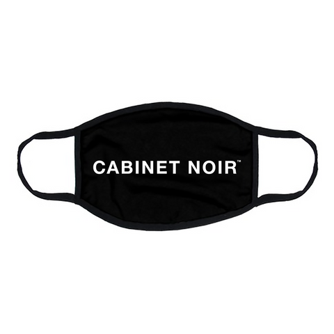 Cabinet Noir Face Mask Black/White