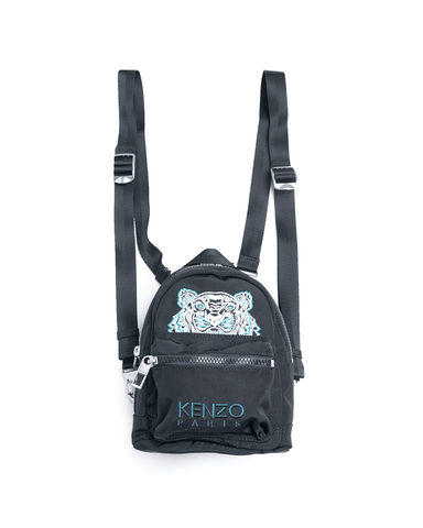 Kenzo Kampus Tiger Mini Backpack Black