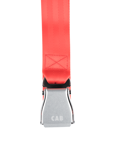 "Cabinet Noir ""Emergency Only"" Safety Belt Red"