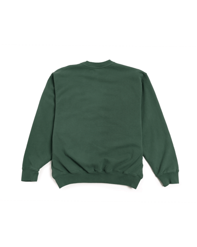 Sporty & Rich Health and Wellness Crewneck Forest Green