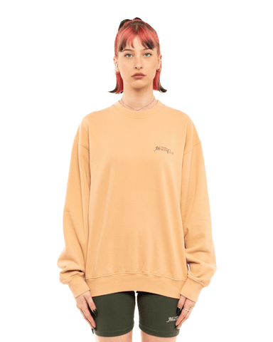Sporty and Rich Rizzoli Crewneck Camel