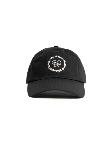 Sporty & Rich SRHWC Hat Black