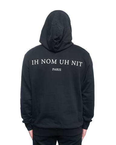 Ih Nom Uh Nit Mask Mask20 and Logo Hoodie Black