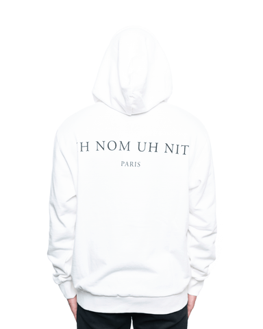 Ih Nom Uh Nit Mask20 and Logo Hoodie Off White