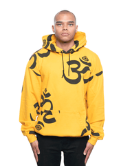Insomniac LTD Ohm Eye Hoodie Gold