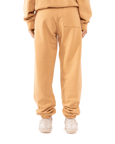 Sporty and Rich Rizzoli Sweatpants Camel