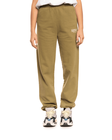 Sporty and Rich Upper East Side Sweatpants Olive