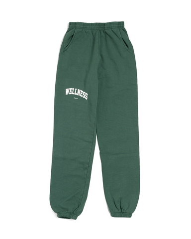 Sporty & Rich Wellness Ivy Sweatpants British Racing Green