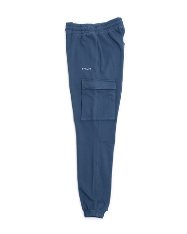 Stampd Classic Logo Sweatpants Navy