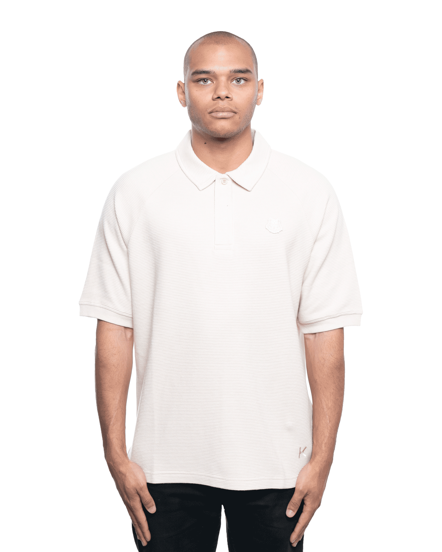 Kenzo Tiger Crest Polo Sand