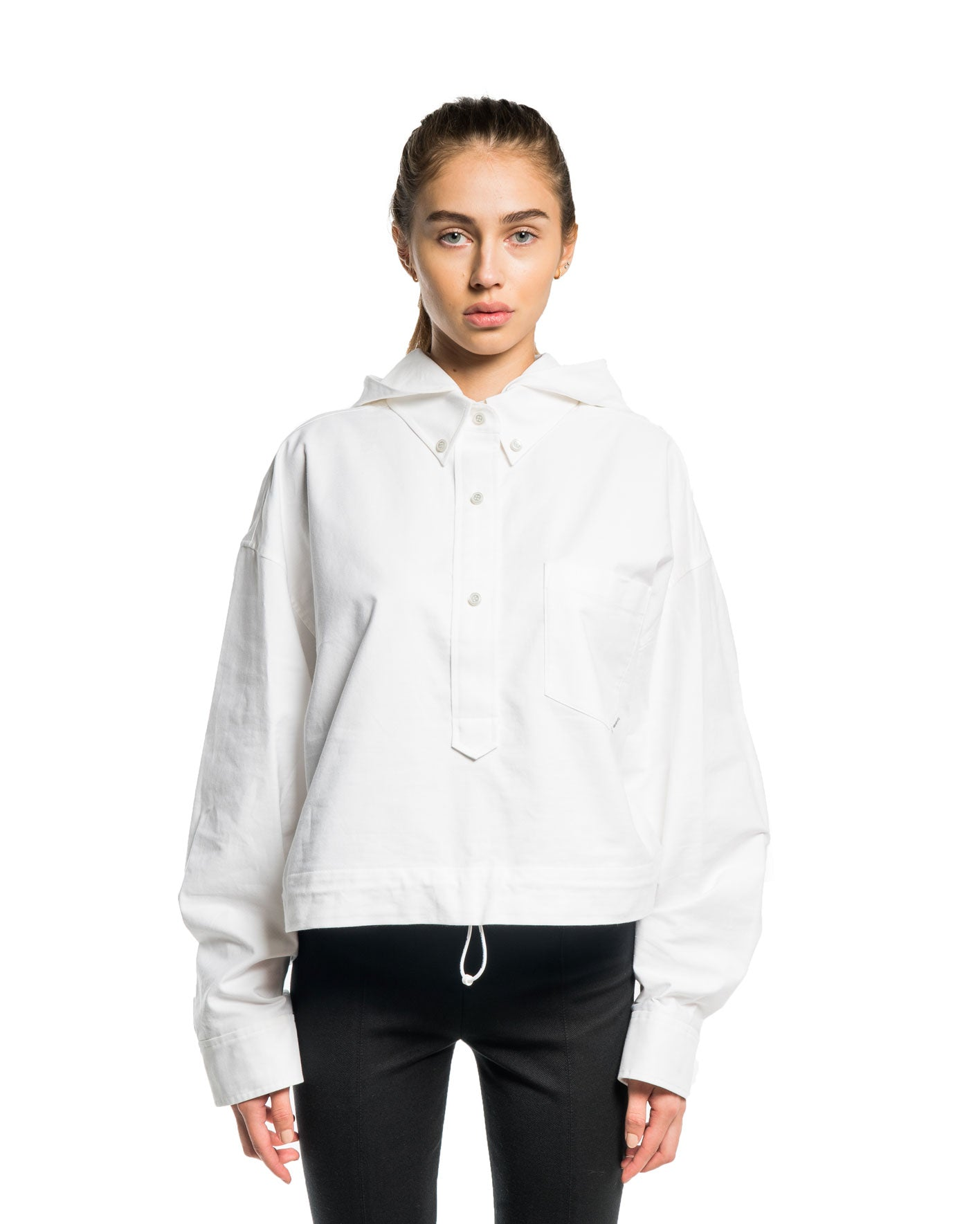 Alexander Wang Henly Shirt Jacket White