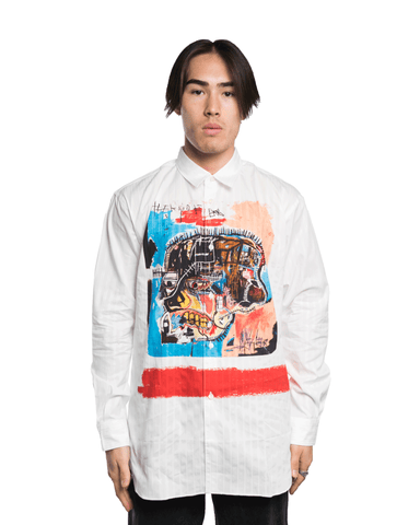 CDG SHIRT x Basquiat W26040BIS Shirt White