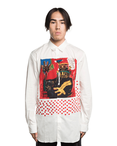 CDG SHIRT x Basquiat W26042 Shirt White
