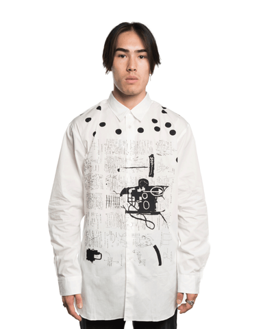 CDG SHIRT x Basquiat W26045BIS Shirt White