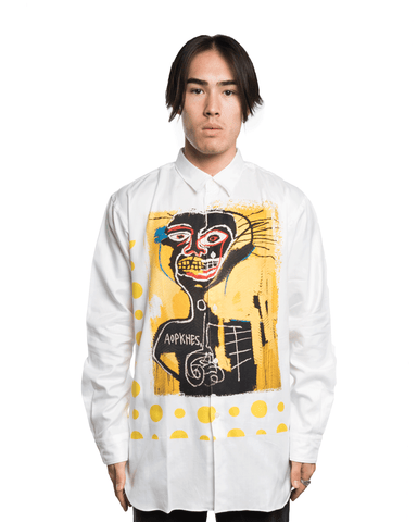 CDG SHIRT x Basquiat W26046BIS Shirt White