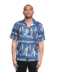 Soulland x Playboy Orson Shirt Blue