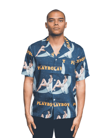 Soulland x Playboy Orson Shirt Navy