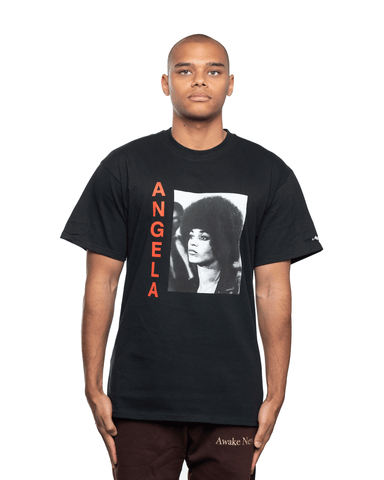 Awake NY Angela David SS Tee Black