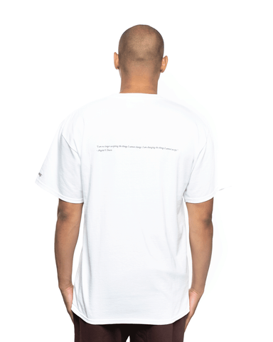 Awake NY Angela David SS Tee White