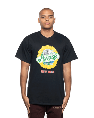 Awake NY Strawberry Kiwi SS Tee Black