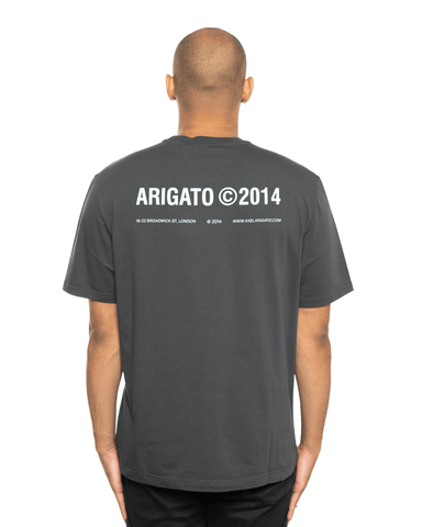 Axel Arigato London Tee Faded Black