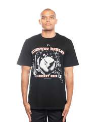 Cabinet Noir x Highway Harley Eagle Tee Black