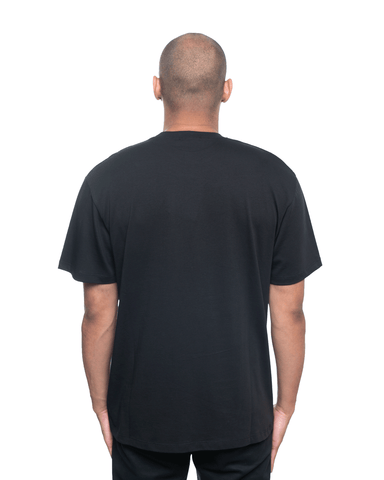 Ih Nom Uh Nit Dustin and Logo Relaxed Tee Black