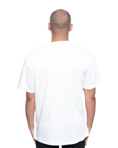 Ih Nom Uh Nit Dustin and Logo Relaxed Tee Off White