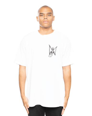MJB x Justice League Festival Tee White