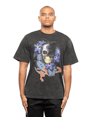 P.A.M Lucid Mind SS Tee Washed Out Black