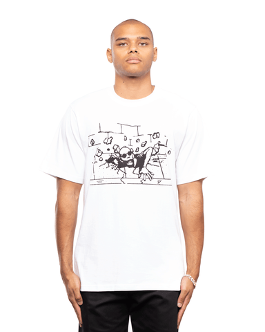P.A.M Rise Up SS Tee Optic White