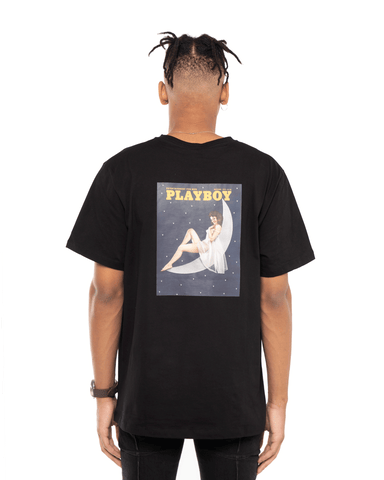 Soulland x Playboy December T-Shirt Black