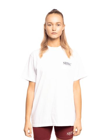 Sporty and Rich Upper East Side Tee White