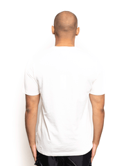 Wood Wood Sami Logo Tee Bright White
