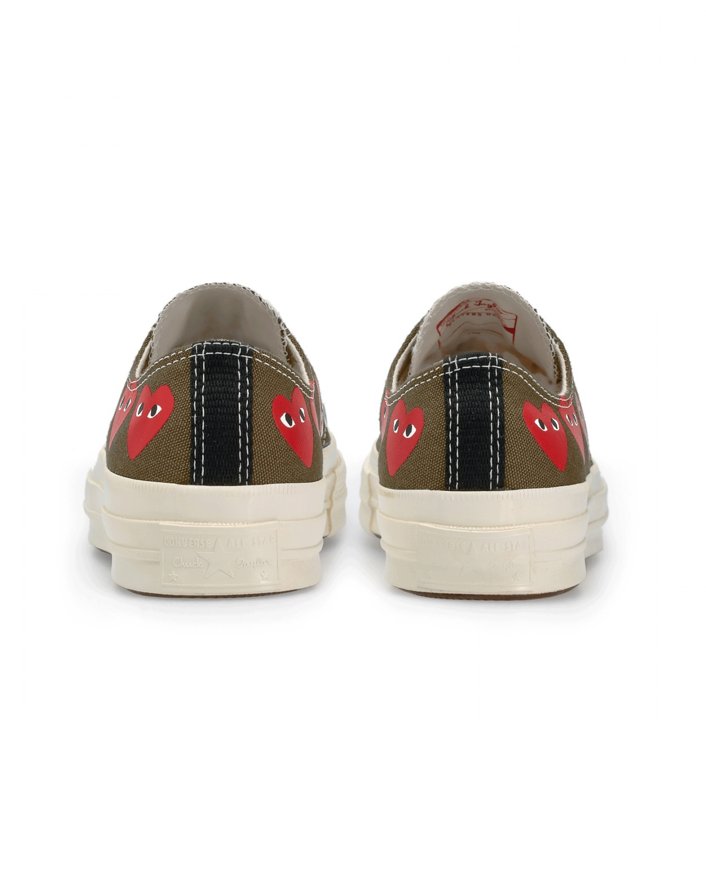 CDG PLAY x Converse CT70 Multi Low Top Khaki