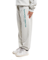 Sporty and Rich Athletic Club Sweatpants Heather Grey