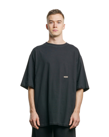 BANX Charged Oversized Tee Black/Red