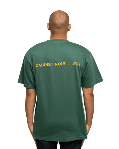 Fxxking Rabbits x Cabinet Noir Symbol Tee Green