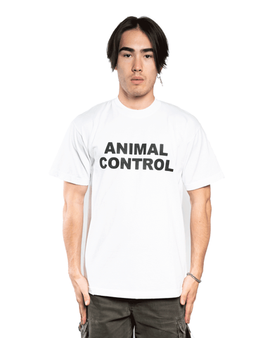Keiser Clark Animal Control Tee White