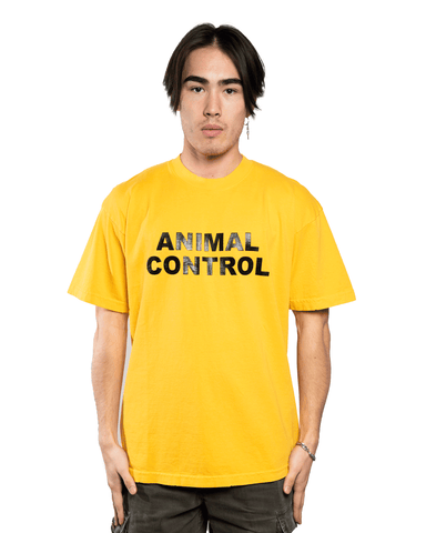 Keiser Clark Animal Control Tee Yellow