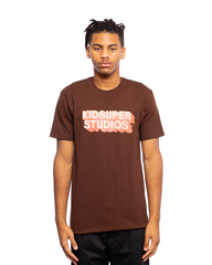 KidSuper Studio Tee Brown