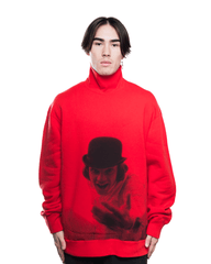 Undercover x A Clockwork Orange UCX4805-2 Mockneck Red
