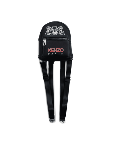Kenzo Tiger Neoprene Mini Backpack Black