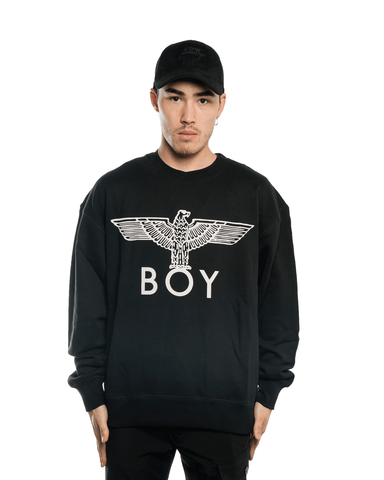 Boy London Eagle Sweat Black