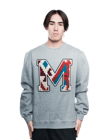 Maharishi MA20 Boot Camp Embroidery Crewneck Grey